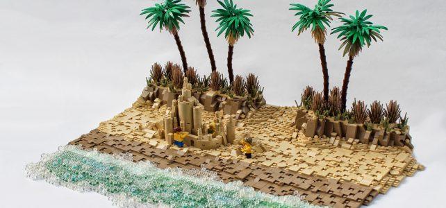 LEGO plage
