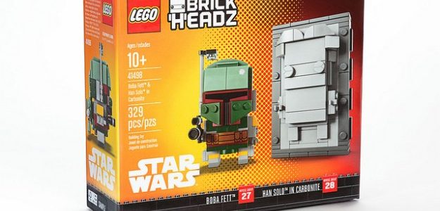 NYCC 2017 LEGO BrickHeadz Star Wars Boba Fett Han Solo 01