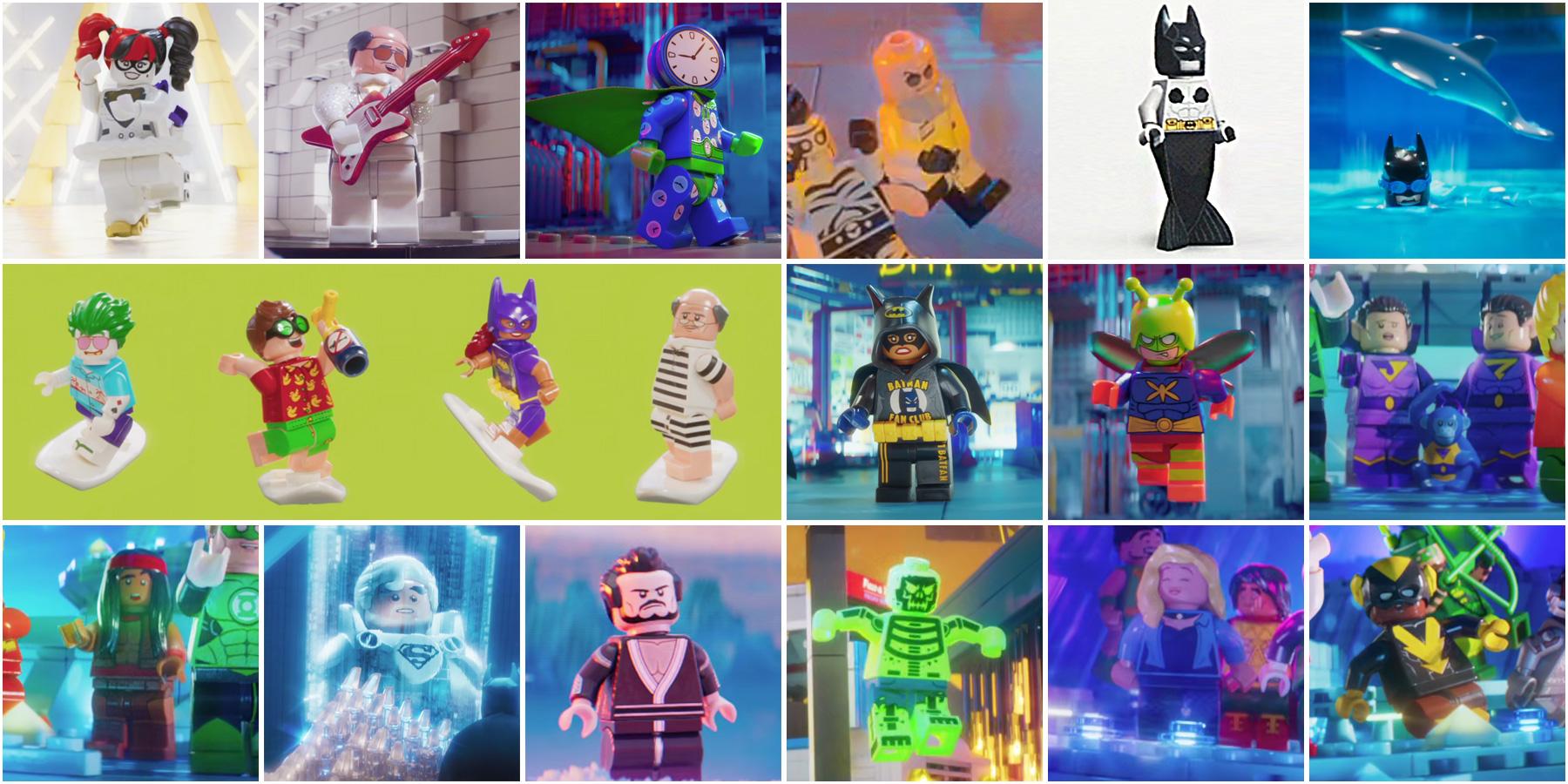 71020 The Lego Batman Movie Minifigures Series 2 La