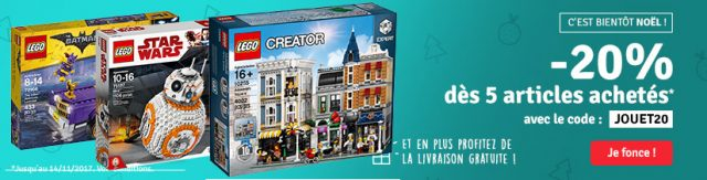 Avenue des Jeux LEGO