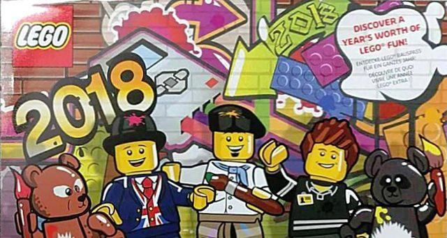 Calendrier officiel LEGO 2018