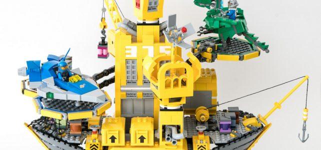 Quand les châteaux forts étaient jaunes et les vaisseaux spatiaux bleus et gris…