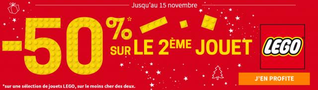 King Jouet promotions LEGO