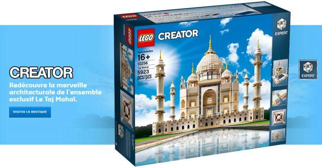 LEGO 10256 Creator Expert Taj Mahal disponible