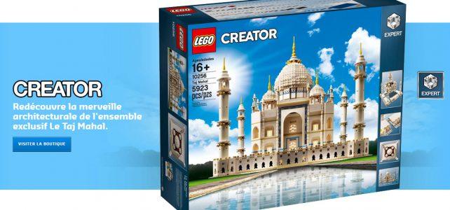 Le set LEGO 10256 Creator Expert Taj Mahal est disponible !