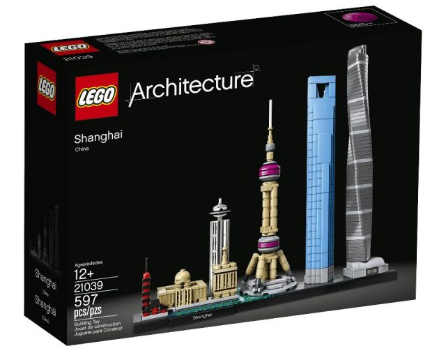 LEGO Architecture 21039 Shanghai skyline box
