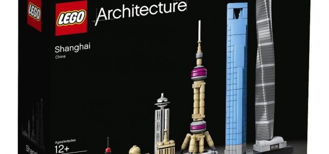 LEGO Architecture 21039 Shanghai skyline box