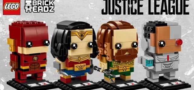 LEGO BrickHeadz 2018 Justice League