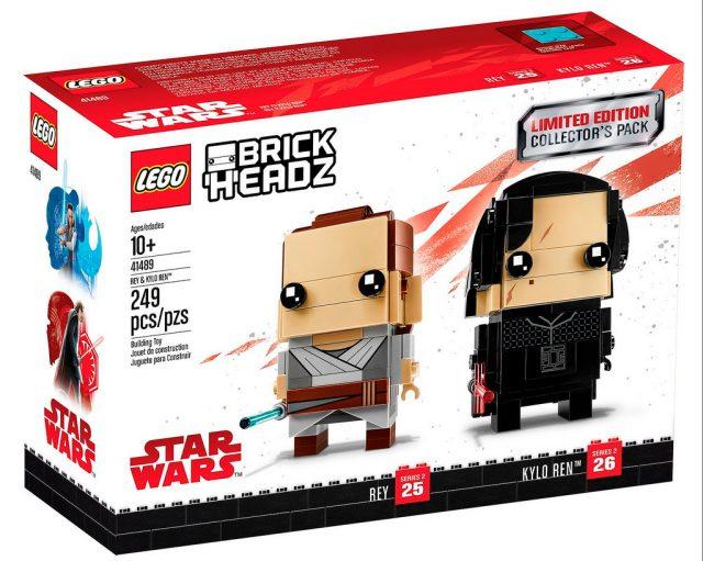 LEGO BrickHeadz 41489 Limited Edition Star Wars Rey and Kylo Ren