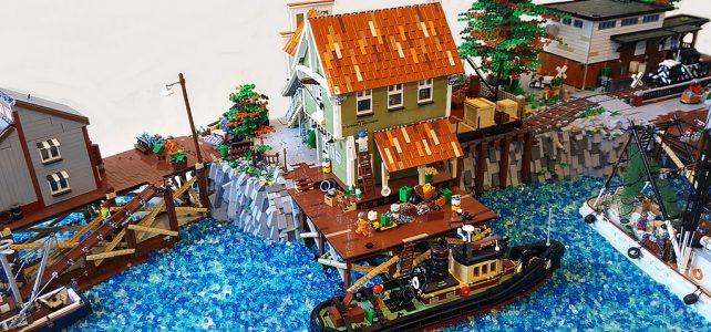 LEGO Brickton Harbour