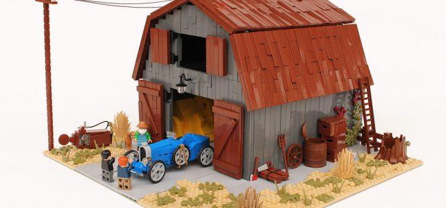Un trésor dans une grange : Bugatti Type 35 Grand Prix
