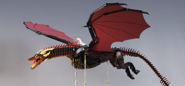 LEGO Game of Thrones Drogon