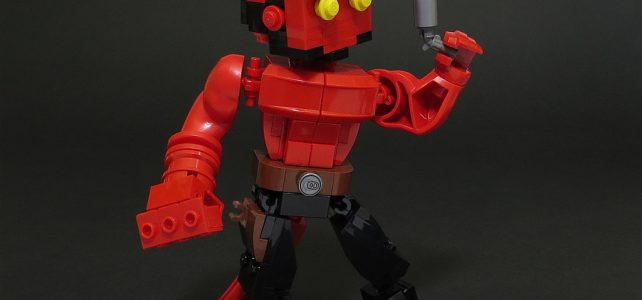 LEGO Hellboy