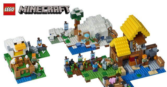 LEGO Minecraft 2018