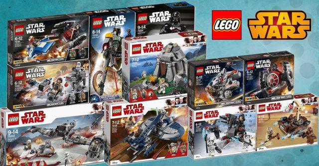 nouveautés LEGO Star Wars 2018