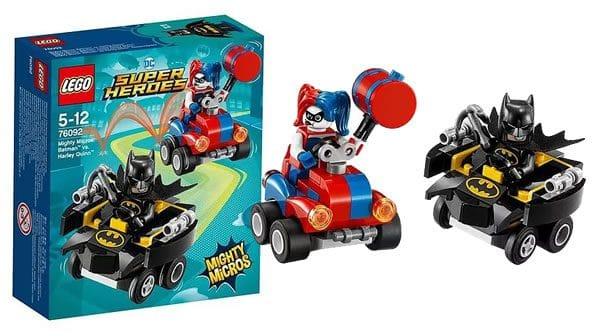 7LEGO 6092 DC Comics Mighty Micros Batman vs Harley Quinn