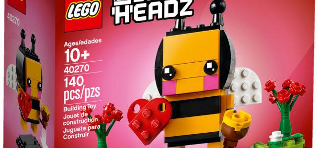 BrickHeadz 2018 Seasonal 40270 Valentine's Bee