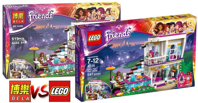 Contrefaçons Bela LEGO Friends