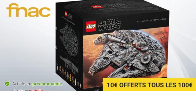 Fnac Millennium Falcon UCS LEGO 75192