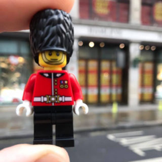 Hamleys LEGO minifigure