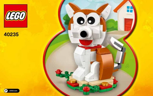 LEGO 40235 Year of the Dog