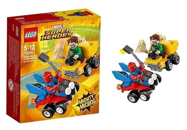 LEGO 76089 Marvel Mighty Micros Scarlet Spider vs Sandman