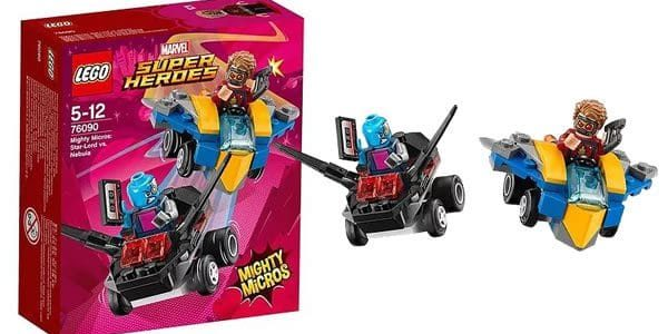 LEGO 76090 Marvel Mighty Micros Star-Lord vs Nebula