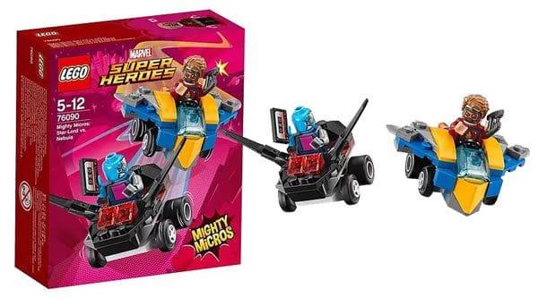 LEGO 76090 Marvel Mighty Micros Star-Lord vs Nebula