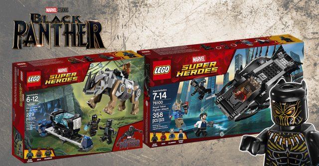 LEGO Black Panther 2018