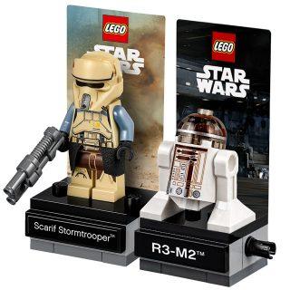 LEGO Star Wars 40176 Scarif Stormtrooper et 40268 R3-M2