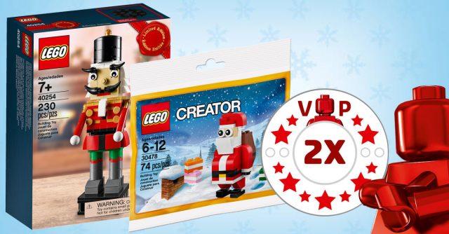 Shop LEGO points VIP doubles 40254 Nutcracker