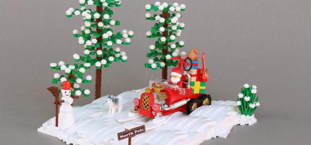 J-8 avant Noël, le Père Noel fait chauffer le moteur