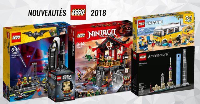 Nouveautés LEGO 2018 vague 2