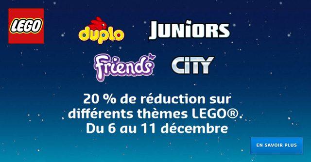 Offres LEGO Noel 2018 Duplo Juniors Friends City