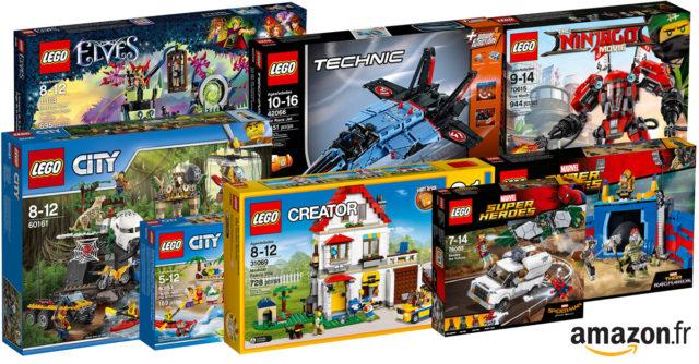 Promotions Amazon LEGO 2017