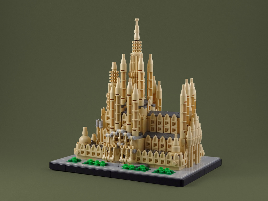 Sagrada familia mode lego architecture hellobricks for Architecture 2018