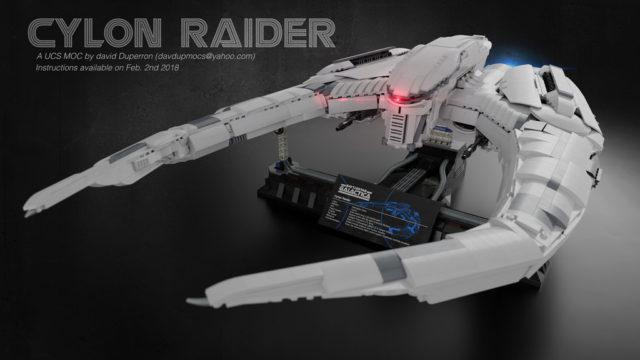 LEGO Battlestar Galactica Cylon Raider UCS
