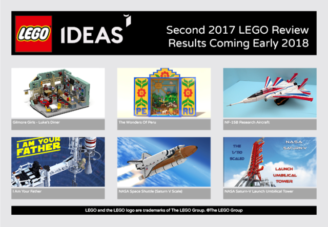 LEGO Ideas 2017 2e vague