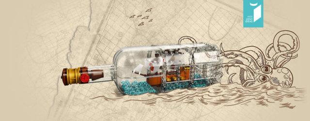 LEGO Ideas 21313 Ship in a Bottle teasing