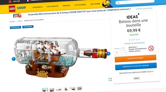 LEGO Ideas 21313 disponible