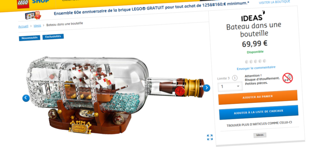 LEGO Ideas 21313 disponible