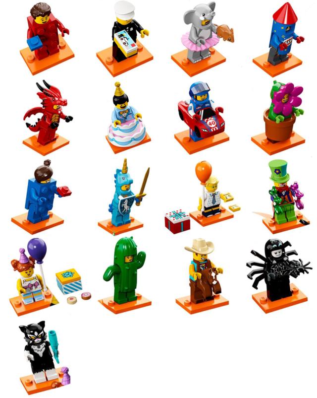 LEGO Minifigures Series 18 tous les visuels