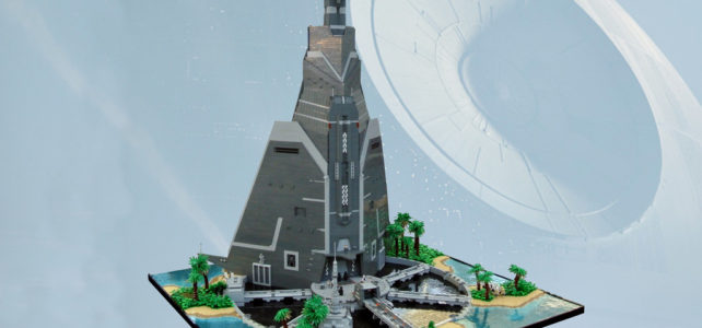LEGO Star Wars Rogue One Scarif Citadel