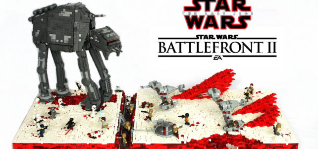 Star Wars The Last Jedi – Battle Of Crait