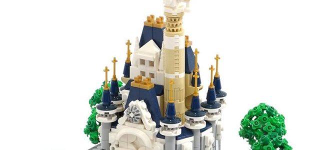 Micro LEGO Disney Castle