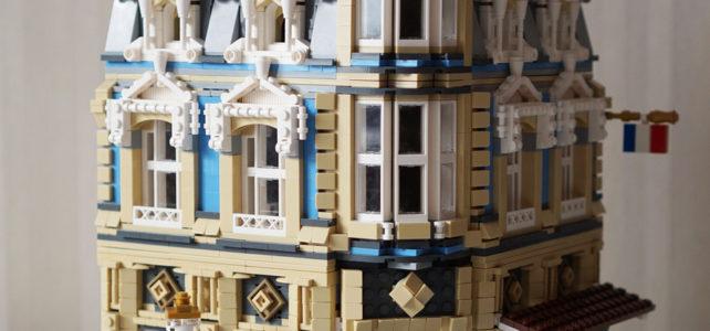One Set MOC Modular LEGO 10214 Tower Bridge