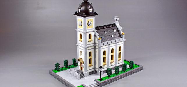 Petite église LEGO
