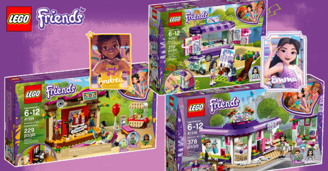 Review LEGO Friends 2018 Part 3