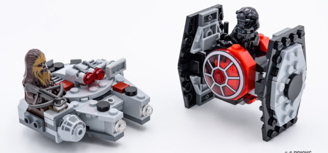 REVIEW LEGO Star Wars Microfighters 75193 Millennium Falcon & 75194 First Order TIE Fighter