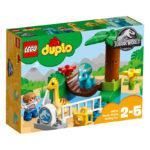 Jurassic World Fallen Kingdom LEGO 10879 Kingdom Gentle Giants Petting Zoo